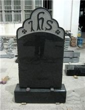 Head Stone, Africa Black Granite Monument Stone