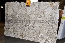 Persian Pearl Granite, White Granite Slab