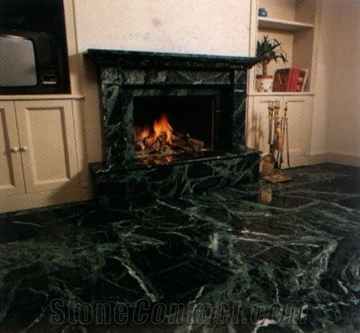serpentino verde giada green marble fireplace from italy 229053 rh stonecontact com ugly green marble fireplace green marble fireplace tools