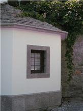 Repen Povir Limestone Window Frame, Repen Povir Grey Limestone Window Frame