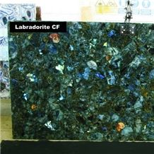 Green Labradorite Semiprecious Stone Slabs