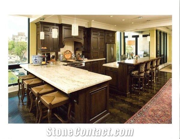 Colonial Cream Granite Countertop, Colonial Cream Beige Granite Countertop