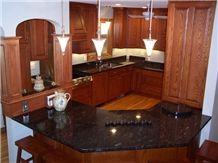 Sage Berry Granite Kitchen Countertop, Sage Berry Green Granite Kitchen Countertops