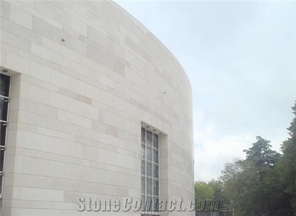 Moca Cream Limestone Facade Beige Limestone Cultured