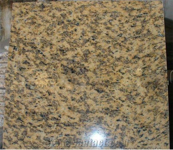 Tiger Skin Yellow Granite Granite Tiles from Hungary-230326 ...