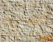 Austin Cream Limestone Thin Veneer Stone, Beige Limestone Veneer
