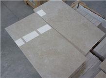 Bartu Light Beige Marble Tiles, Isparta Cream Beige Marble Tiles