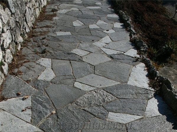 Beola Grigia Quartzite Flagstone Pavement Beola Grigia