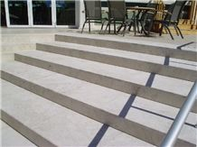 Lilia Beige Marble Stairs