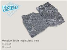 Beola Grigia Quartzite Flagstone, Beola Grigia Grey Quartzite Flagstone