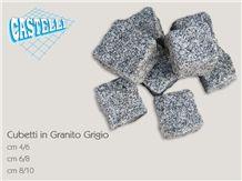 Serizzo Antigorio Grey Granite Cobble Stone