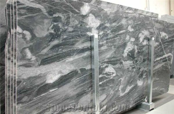 Bardiglio Nuvolato Marble Slab Tile Italy Grey Marble