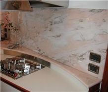Rosa Candoglia Marble Kitchen Countertop, Rosa Candoglia Pink Marble Kitchen Countertops