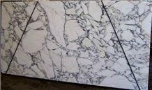 Arabescato Mossa Marble Slabs, Italy White Marble