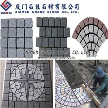 Grey Granite Cubes, Cobble Stone, Cube Stone, Exterior Paving Stone