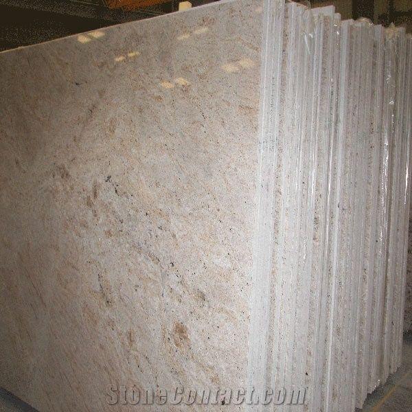 Colonial Cream Granite Slab India Beige Granite 231746