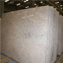 Kashmir Cream Granite Slab, India White Granite