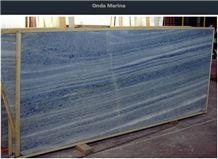 Onda Marina, Azul Do Mar Quartzite Slabs