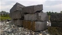 Mocha ( GRIZZLY) Granite Blocks, Canada Brown Granite