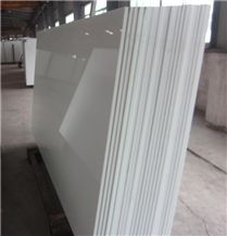 Nano Crystallized Glass Panel Slabs & Tiles, China White Crystallized Stone