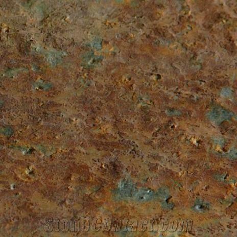 Otta Pillarguri Rust Quartzite Tiles Norway Brown