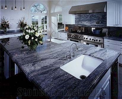Br Blue Granite Kitchen Countertop