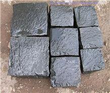 Black Basalt Cubes, Gray Basalt