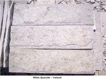 White Quartzite Wall Stone Panels