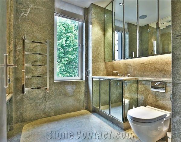 Green Granite Showers : Coast green granite bathroom design from united kingdom