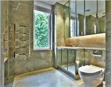 Coast Green Granite Bathroom Design