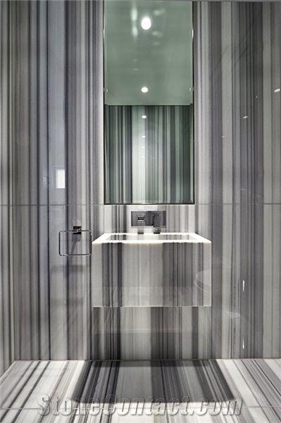 Striato Olimpico Marble Bathroom Design Striato Olimpico