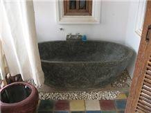 Black Stone Bathtub(Black Marble)