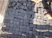 Cobble Stone Pavement,Black Basalt Cobble