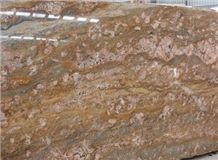 Golden River Granite Slab