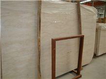 Indonesia Cream Marfil Marble Slab Tile