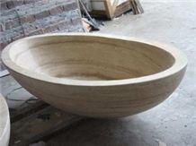 Solid Marble Bath Tub