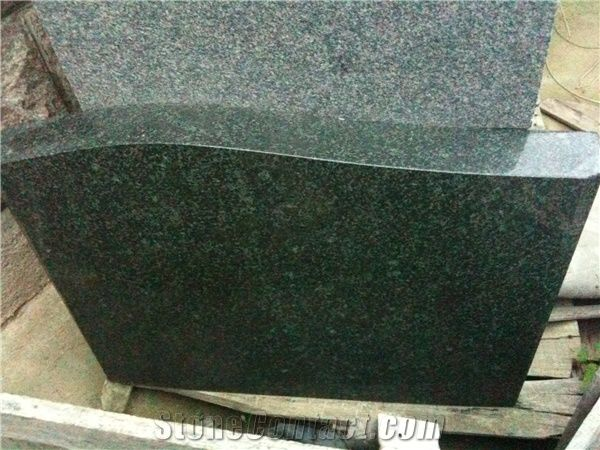 G381 Granite Evergreen Monument G381 Green Granite