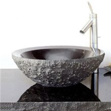 Natural Stone Sinks & Basins, China Impala Black Granite Basins
