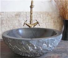 Natural Stone Sinks,Wash Basins,Black Granite, Lapis Lazuli Blue Limestone Wash Basins