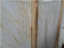 Golden Spider Marble Slabs, Greece Yellow Marble