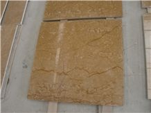 Imperial Gold Limestone Tiles, Egypt Yellow Limestone