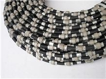 Diamond Wire Saw Marble Prolifing 37 Beads 8mm Dia