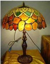 Semiprecious Stone Interior Lamp-7