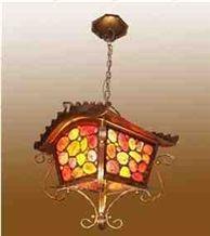 Semiprecious Stone Lamp