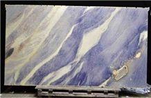 Blue Imperial Quartzite Slabs, Azul Imperial Quartzite
