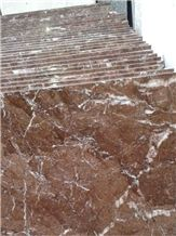 Roso Ginari Marble Tiles (Red)