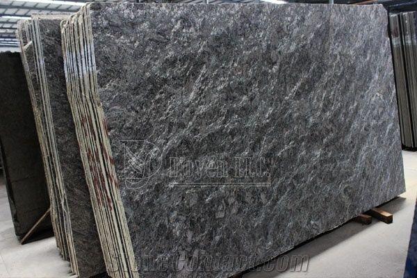 Brazil Cosmos Flamed Granite Slabs Brazil Black Granite