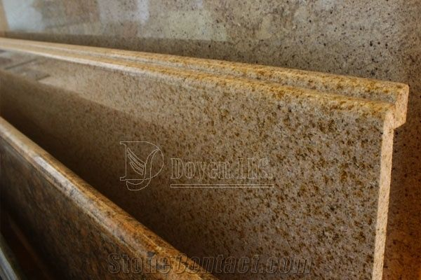 Laminated Double Half Bullnose Edge Granite Countertops
