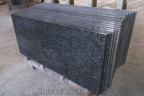 Norway Blue Pearl Prefab Kitchen Polished Granite Table Tops From - Prefab wood table tops