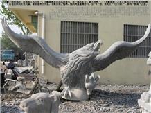 Eagle Sculpture, Eagle Statue, Hawk Sculpture